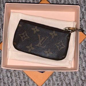Louis Vuitton Accessories - Monogram Canvas Key Pouch